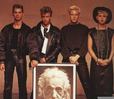 Depeche Mode och Einstein