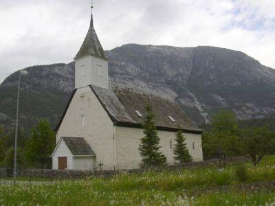 Eidsfjord gamla kyrke önskar en skön söndag. Nya äventyr väntar nästa vecka...